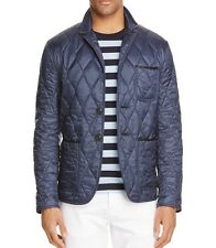 New 2016 Authentic Burberry Brit Gillington Quilted Jacket Nwt Navy