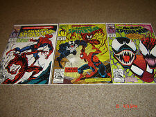 THE AMAZING SPIDERMAN #361-363 THE FIRST CARNAGE