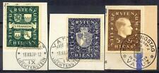 LIECHTENSTEIN 1934 183-185 EST ERSTAG 120€++(A3749