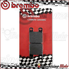 REAR BRAKE PADS BREMBO CARBON CERAMIC 07044 GILERA SURFER 125 2000 >