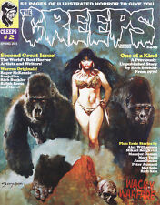 Creeps Magazine #2 Spring 2015 Warrant Publishing Creepy Eerie Horror BRAND NEW!