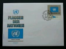 United Nation Flag 1989 (stamp FDC)