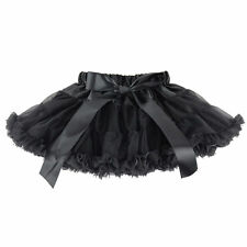 Baby Girl Kids Chiffon Fluffy Pettiskirt Tutu Dancewear Party Christmas skirt