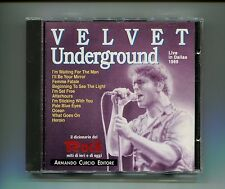 VELVET UNDERGROUND # LIVE IN DALLAS # Curcio # CD Rock