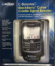 805206 - Wilson Electronics C-Booster Blackberry Curve Cradle Signal Booster