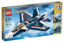 NEW - Sealed- LEGO Creator - Blue Power Jet #31039 - helicopter boat 608 pcs