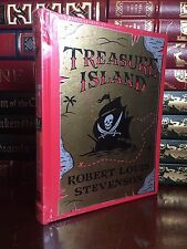 Treasure Island by Robert Louis Stevenson New Sealed Leather Bound Collectible