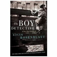 THE BOY DETECTIVE (9780062241337) - ROGER ROSENBLATT (HARDCOVER) NEW