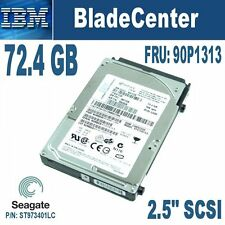 "IBM 39R7338 73.4GB 2.5"" 10Krpm Ultra320  SCSI Disk for Blades: HS20, LS20 etc."