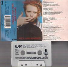 SIMPLY RED  Men and women DIFFICULT    SPANISH  CASSETTE  Spain 1987