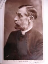 Charles Gore Signed Photo and Inscribed Signature (1910/1922) - Bible