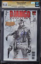 DJANGO UNCHAINED #1 CGC SS • SIGNED JAMIE FOXX • JIM LEE SKECTH • 2nd PRINT