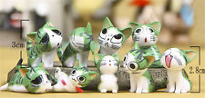 Green 9PCS/Set Chi's Sweet Home PVC Figure Toys Doll Collection Gift