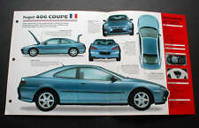 1998 PEUGOT 406 COUPE 3.0 UNIQUE IMP BROCHURE '98