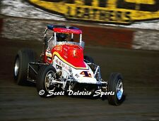 ORIGINAL 1980'S BUSTER VENARD TAMALE WAGON SPRINT CAR 8 X 10 PHOTO FROM ASCOT