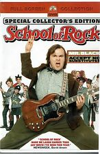 The School of Rock (DVD, Full Frame) Special Collector Edition - Fast Shipping