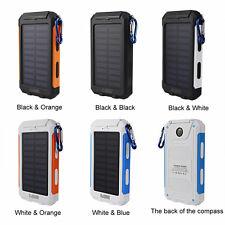 wasserdicht 50000mah macht bank 2 usb ladegerät für Iphone7 für huawei weiß+blau