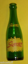 Squirt Grapefruit Drink 7 oz Green Glass Bottle Switch To Squirt Painted Label