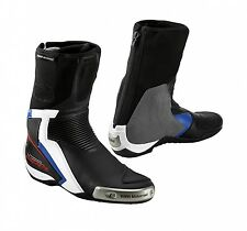 BMW Motorrad Dainese Double R Leather Motorcycle Race Sport Boots 8 #76228553456