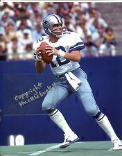 ROGER STAUBACH photo Dallas Cowboys in action HOF (c) #3