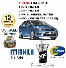 FOR FORD FOCUS 1.8TDCi 1/2005-  SERVICE KIT OIL AIR FUEL POLLEN FILTER KIT