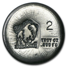 2 oz Silver Round - Bison Bullion - SKU #94803