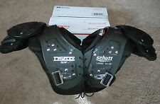 Youth Boys DS Flex SCHUTT Black Football SHOULDER PADS Protection Large 14-15""