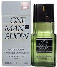 JACQUES BOGART ONE MAN SHOW EDT SPRAY FOR MEN 3.3 Oz / 100 ml NEW ITEM IN BOX!!!