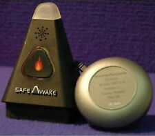 Safe Awake Fire Smoke Alarm Aid Tactile Notification Vibration and Sound System