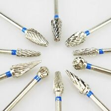 10pcs 2.35mm Tungsten Carbide Tungsten Steel Dental Burs Lab Burs Tooth Drill