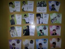 INFINITE plastic PHOTO CARD #1, 8X2 +8X2 Total 32 Sheet - inspirit last romeo