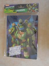 TEENAGE MUTANT NINJA TURTLES JOURNAL * NICKELODEON * NOTEPAD * BOOK * BRAND NEW