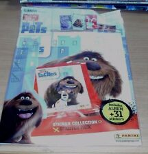 Panini The Secret Life of Pets Sticker Album Starter Pack + 31 stickers