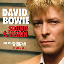 DAVID BOWIE New Sealed 2017 SOUND & VISION BIOGRAPHY & MORE DVD & CD SET