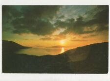 Sunset West Loch Tarbert Isle Of Harris Western Isles Postcard 700a
