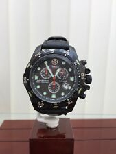 Timex Shock Resistant Mens Watch Indiglo Chronograph Analogue WR 200m  (728