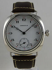 UNIQUE cushion CARAVELLE 16OA N4 Ebauche UNITAS 6498 Pocket watch conversion