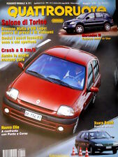 Quattroruote 511 1998 Nuova Clio a confronto con Punto e Corsa. Mercedes M [Q91]