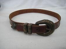 - AUTHENTIQUE  ceinture LIZ CLAIBORNE   cuir  TBEG  vintage  à saisir