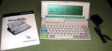 NTS DreamWriter 200 Word Processor Computer w/ Users Manual & NEW Battery Pack!