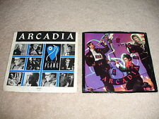 "Lot of 2 Arcadia 45 RPM 7"" Records Picture Sleeves -  EX/NM Vinyl"