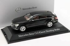 Mercedes-Benz CLS-clase Shooting Brake (x218) obsidiana negro 1:43 norev
