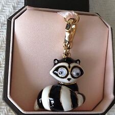 VERY RARE! BRAND NEW JUICY COUTURE RACCOON BRACELET CHARM IN TAGGED BOX