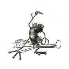 Sugarpost Gnome Be Gone Kitchen Witch Welded Metal Art