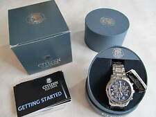 Citizen Eco-Drive Perpetual Calendar Chronograph Alarm Men's Watch BL5470-57L
