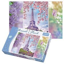 Trefl 1000 Piece Romantic Paris Spring Adult Large Eiffel Tower Jigsaw Puzzle