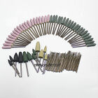 88Pcs Dental Mixed Kit Diamond Bullet Shape Point Burs Bur Polisher 2.35mm pit