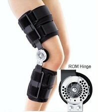 Medium Orthopedic ROM Hinge Patella Post-Op Adjustable Knee Brace Wrap Support