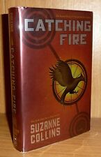CATCHING FIRE by Suzanne Collins TRUE U.S. HB 1st! First Printing! Basis of FILM