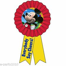DISNEY MICKEY MOUSE GUEST OF HONOR RIBBON ~ Birthday Party Supplies ~ FAVORS